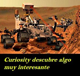 curiosity descubre algo