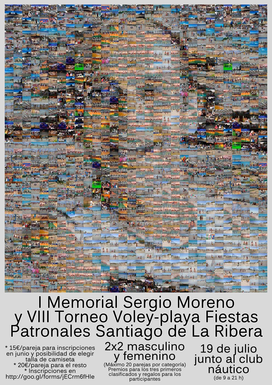 I Memorial Voley Playa Sergio Moreno