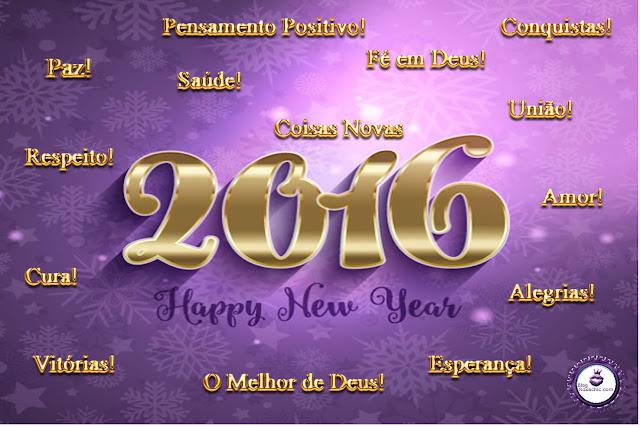Blog e Canal Roxachic - Um Feliz 2016!!!