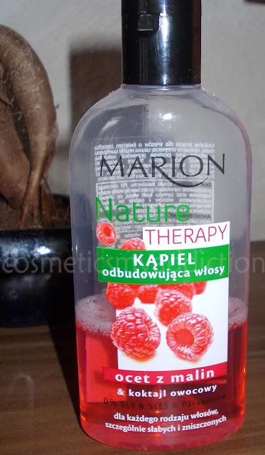 Kąpiel odbudowująca włosy oraz spray regenerujący włosy Marion