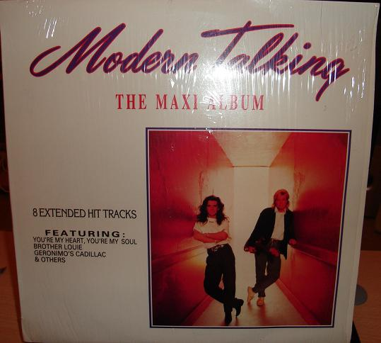modern talking quot the maxi album quot south africa only release 1988 eurobeat disco 80 s quot