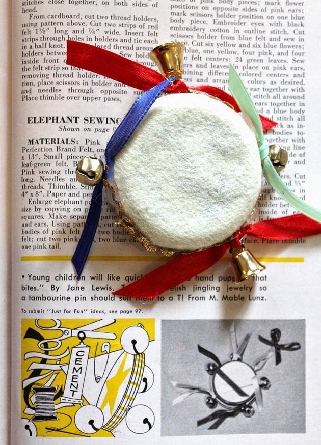 how to make a 1950s novelty brooch with Va Voom Vintage