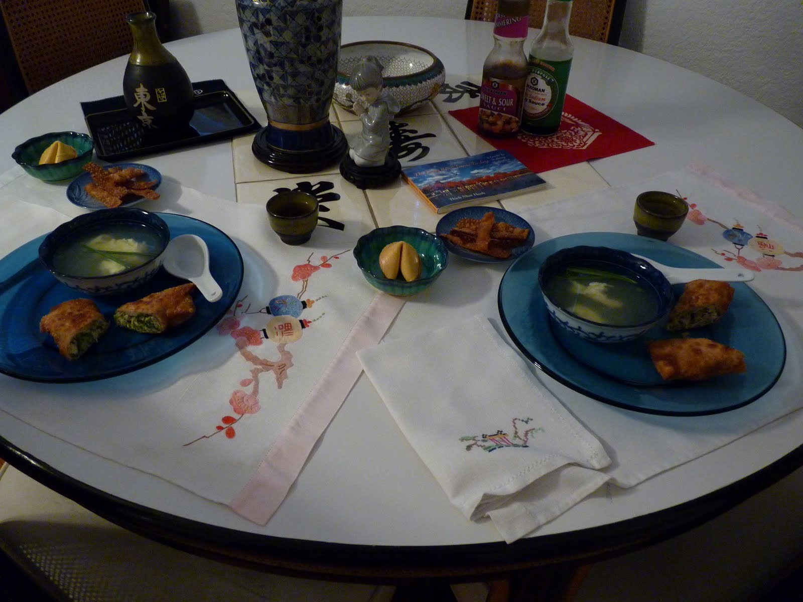 Tablescapes For You Asian New And Old
