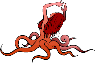 Octopus Monster Fantasy Clipart