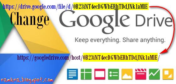Công cụ chuyển đổi URL (link) Google drive thành link host