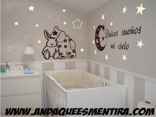 Vinilos decorativos andaqueesmentira vinilos decorativos bebe for Vinilos habitacion nina