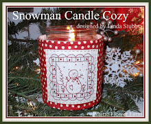 Snowman Candle Cozy Pattern