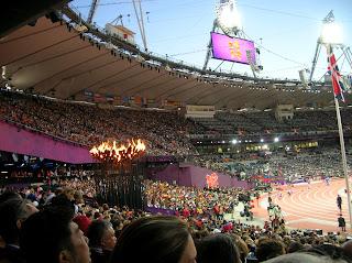 London 2012 Olympics - Inside the stadium
