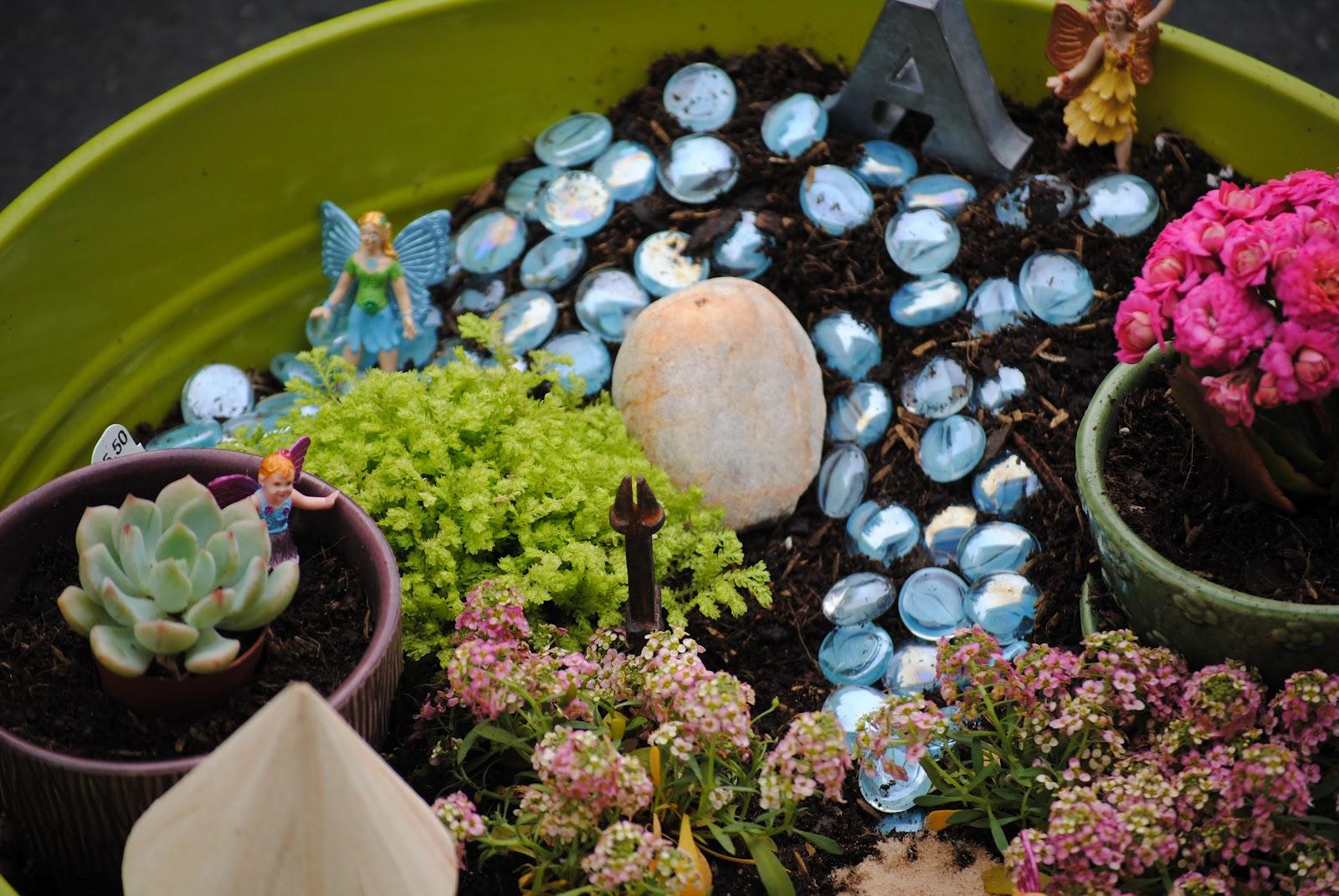 How Does Your Fairy Garden Grow Making Lemonade