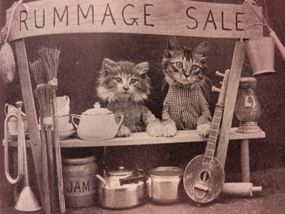 The Vintage & Handmade Jumble Sale ~  4th October 2014