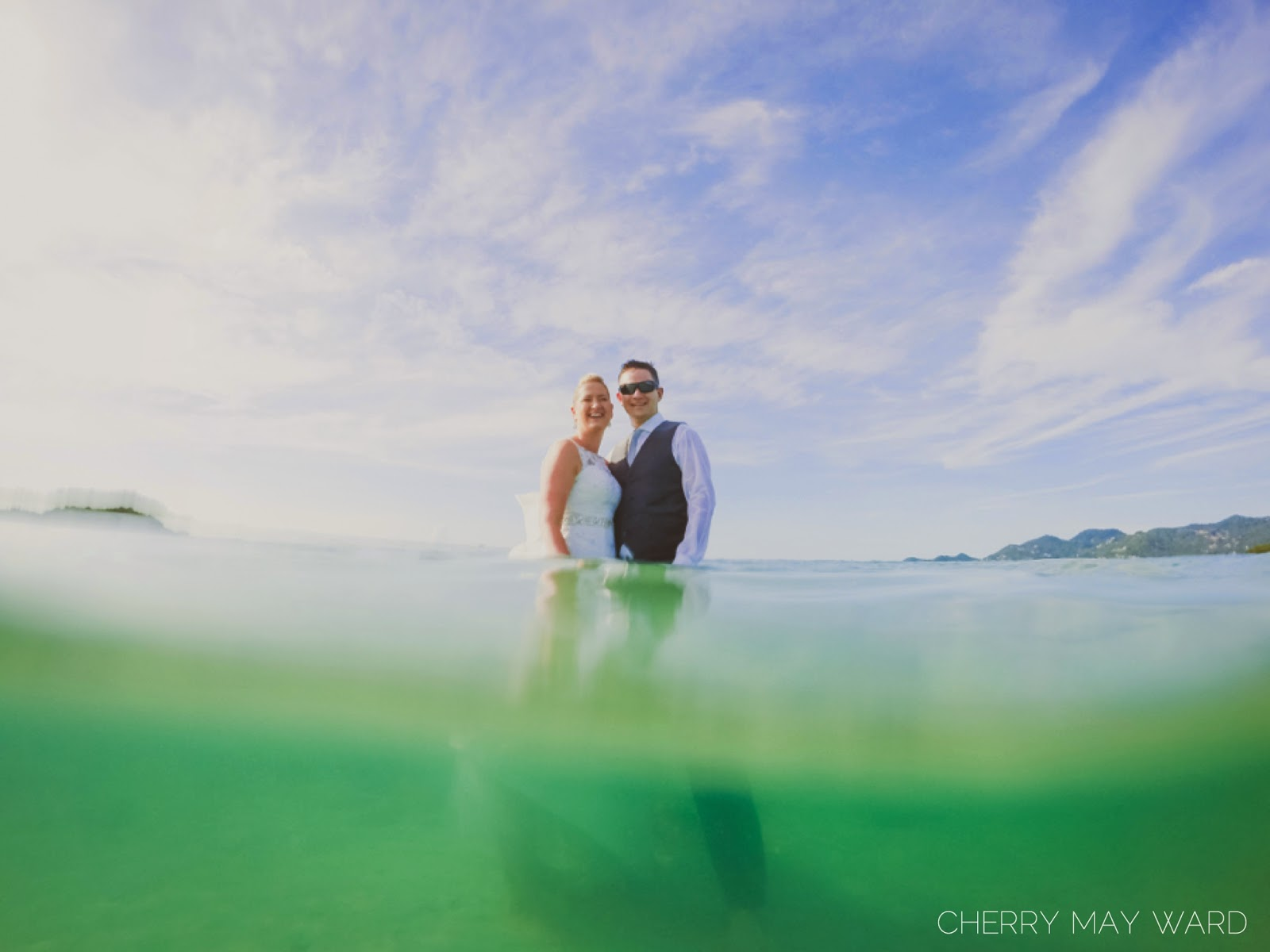 Trash the dress session by Cherry May Ward Photography on Koh Samui, Chaweng Beach