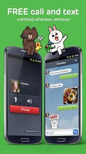 تطبيق مجانى مميز لاجراء المكالمات الصوتية وإرسال الرسائل مجاناً للاندرويد line free calls & messages 3.8.2 apk