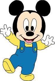 Mickey empieza a andar