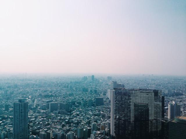 Japan Summer 2015 Tokyo Metropolitan Government Building ปีนป่ายไปดูวิว ตเกียวแบบฟรีๆ