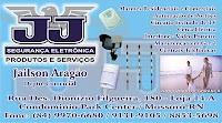 JJ SEGURANÇA ELETRÔNICA - PRODUTOS E SERVIÇOS - JAILSON ARAGÃO - DEPTO. COMERCIAL