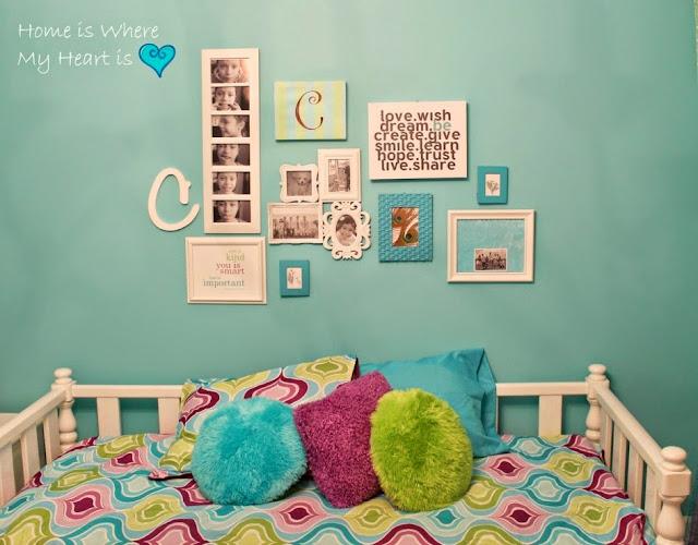 Colorful Teenage Girl Bedroom Ideas