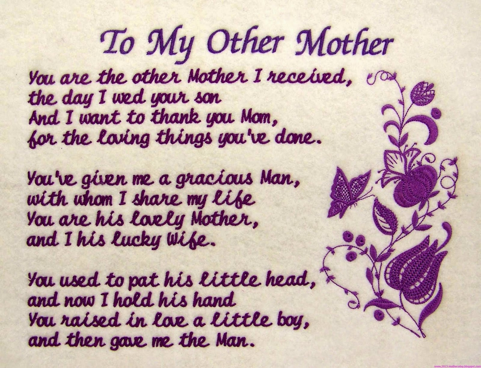 Mother's Day, part 1