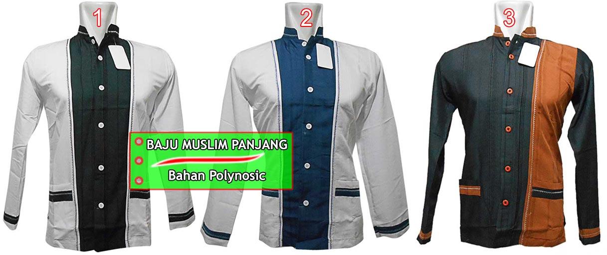 Baju Koko Pria Lengan Panjang Murah Model Terbaru 2015
