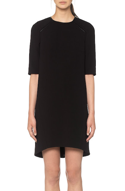 whistles faux leather dress