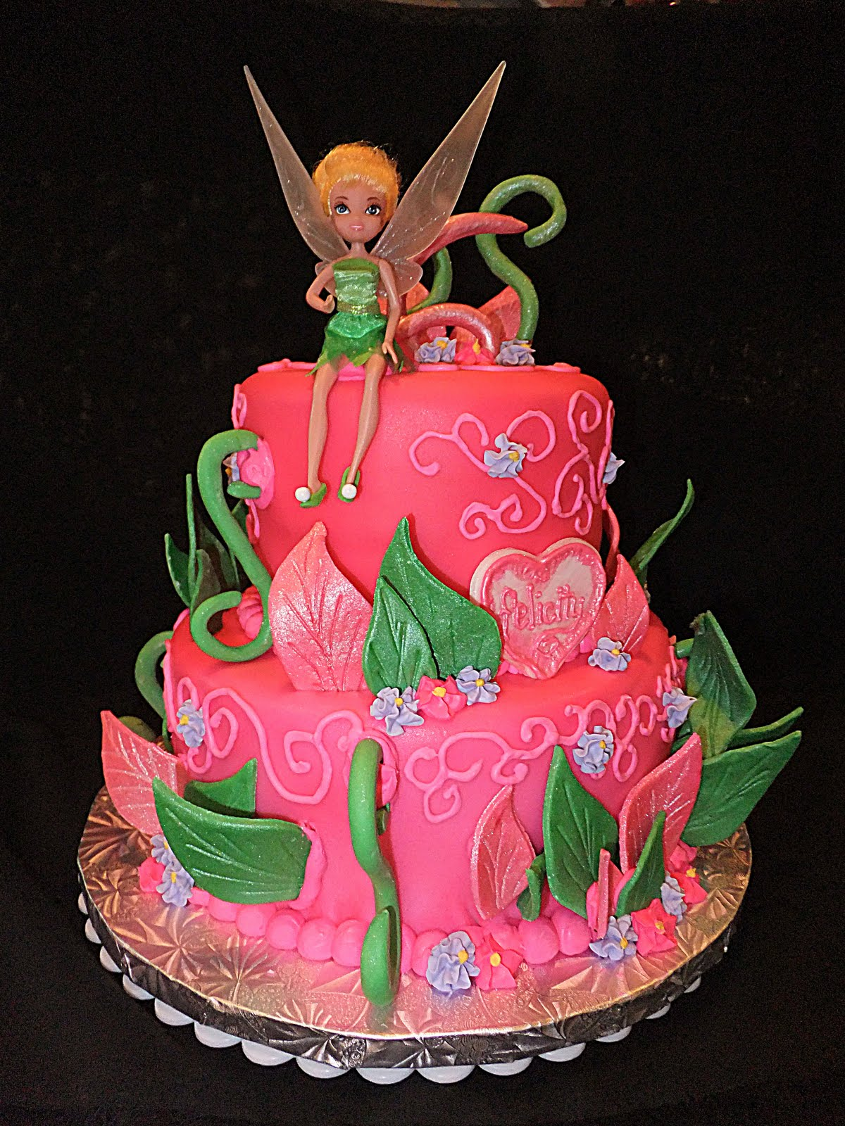 Tinkerbell Cake Images Photos : padicakes: 2/1/11 - 3/1/11