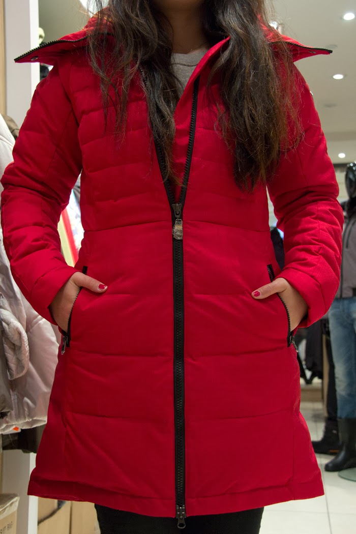 RainDrops-Zipper-Red