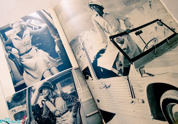 revista de moda antiga anos 70