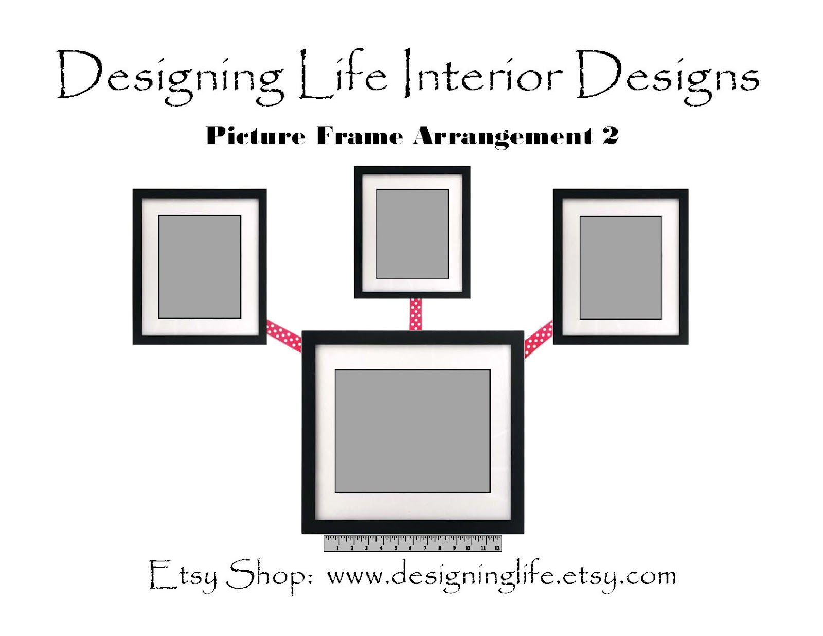 Designing Life: How to Arrange Picture Displays on a Wall: Six ...