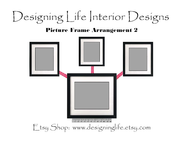 designing life how to arrange picture displays on a wall six stylish designs. Black Bedroom Furniture Sets. Home Design Ideas
