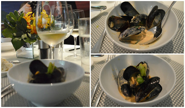 Red Curry Prince Edward Island Mussels at the Mediterraneo Restaurant