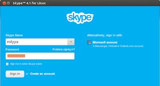 Install Skype di Ubuntu