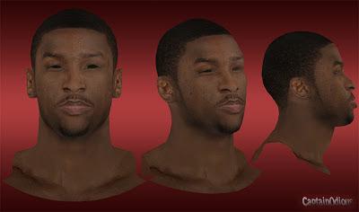 NBA 2K13 Michael Kidd-Gilchrist Cyberface Mod