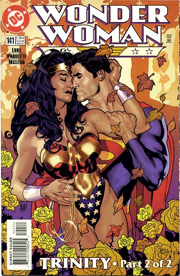 Wonder Woman 141 cover with Superman