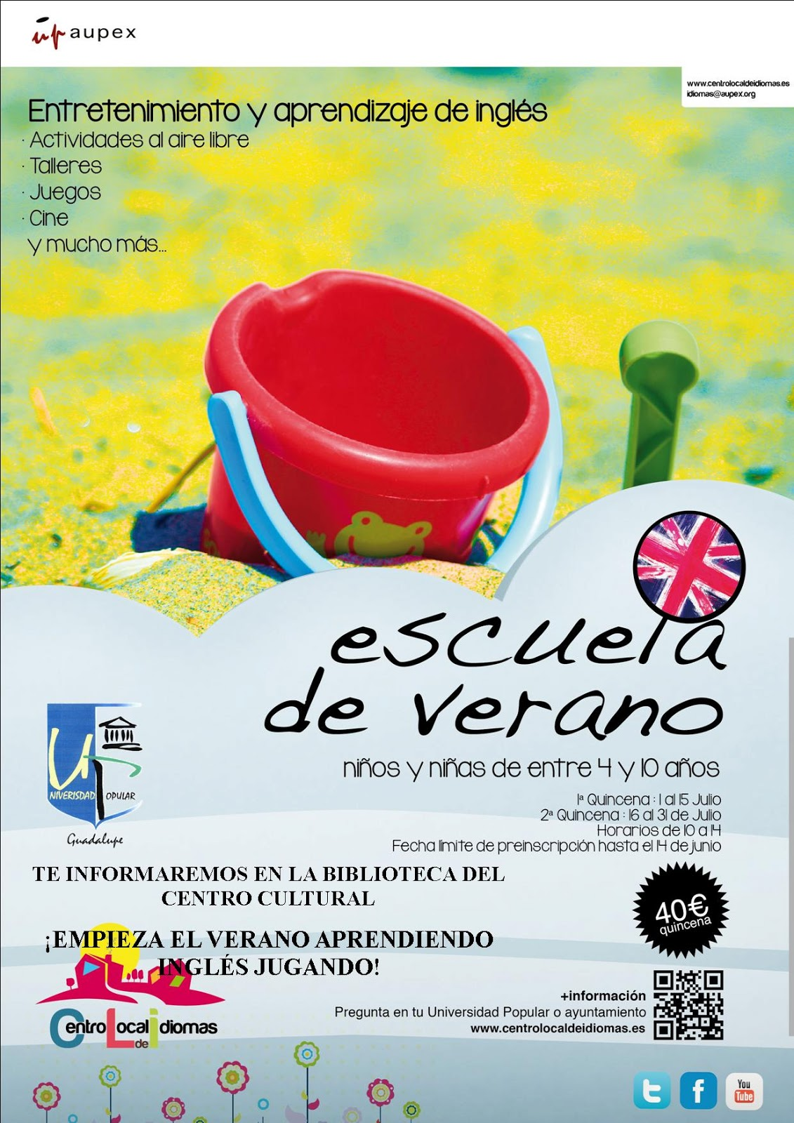 ingles curso verano espana: