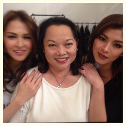 Angel Locsin and Marian Rivera project? What's with this secret collaboration?