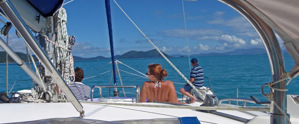 Sailing Aussie coast