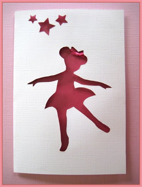 Ema Decorations Angelina Ballerina Birthday Card or Party Invitation – Angelina Ballerina Birthday Invitations