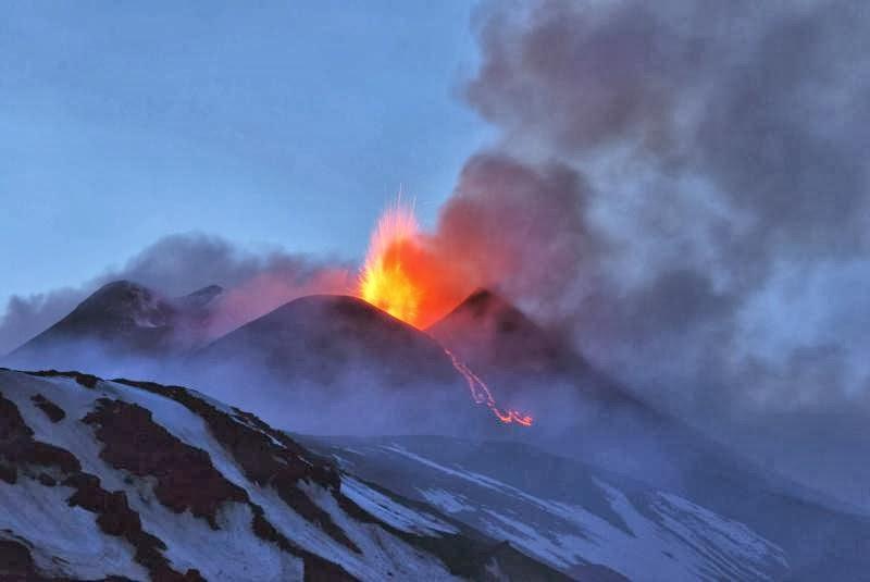El volcán Etna