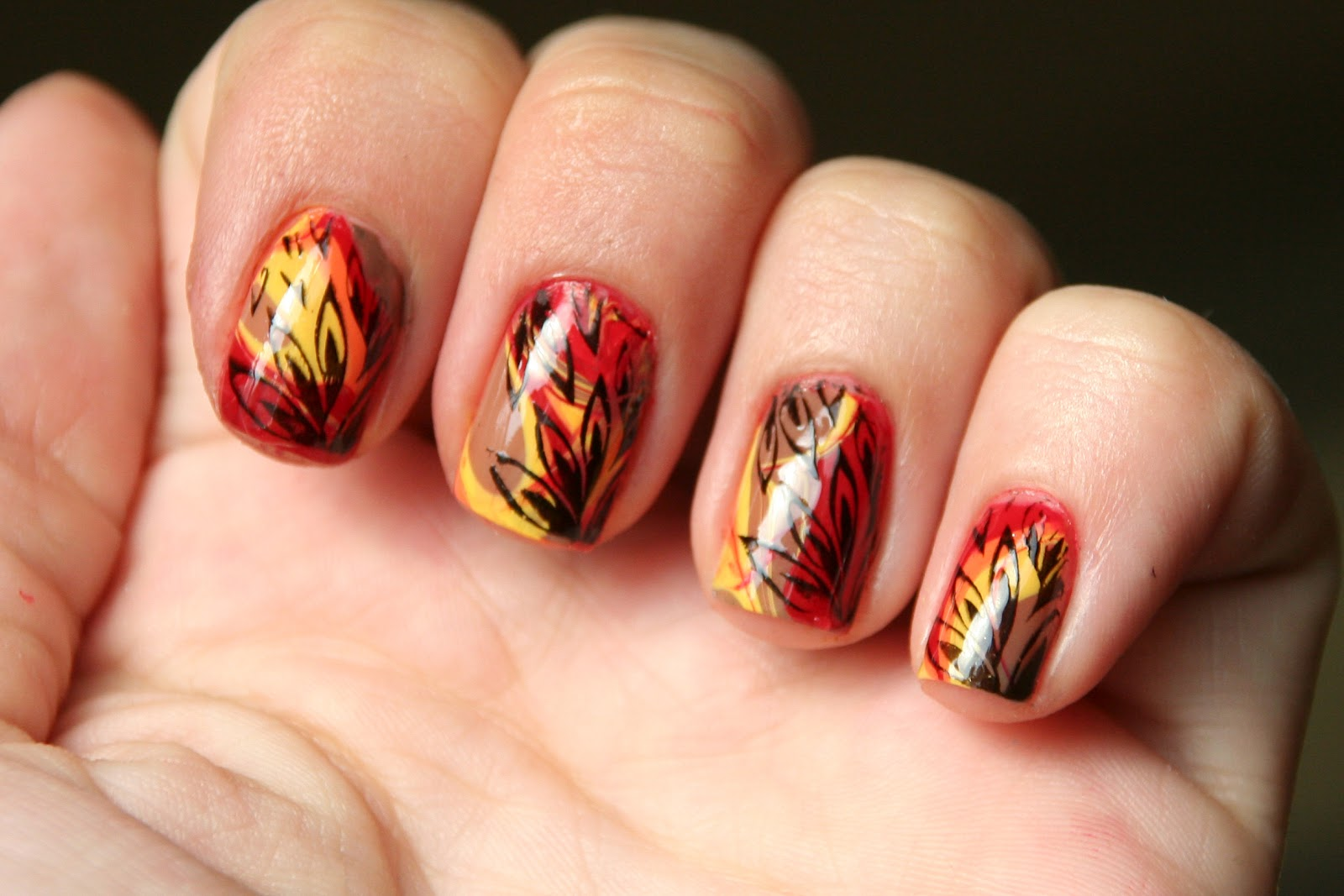 Thanksgiving Nails | Nail Art | Pinterest