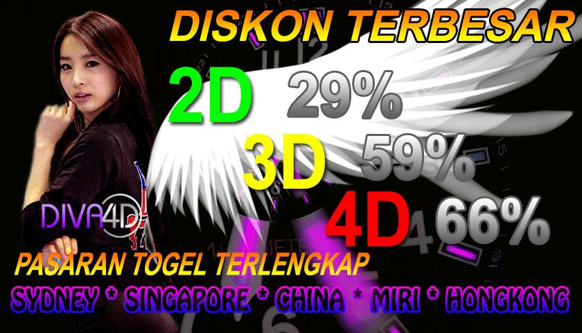 DIVA4D | AGEN TOGEL ONLINE TERPERCAYA Diskon4d