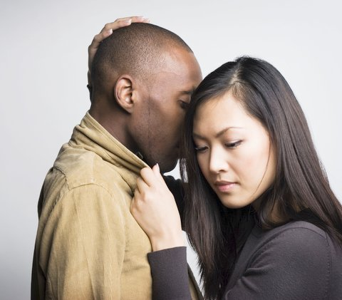 woman love man Asian black