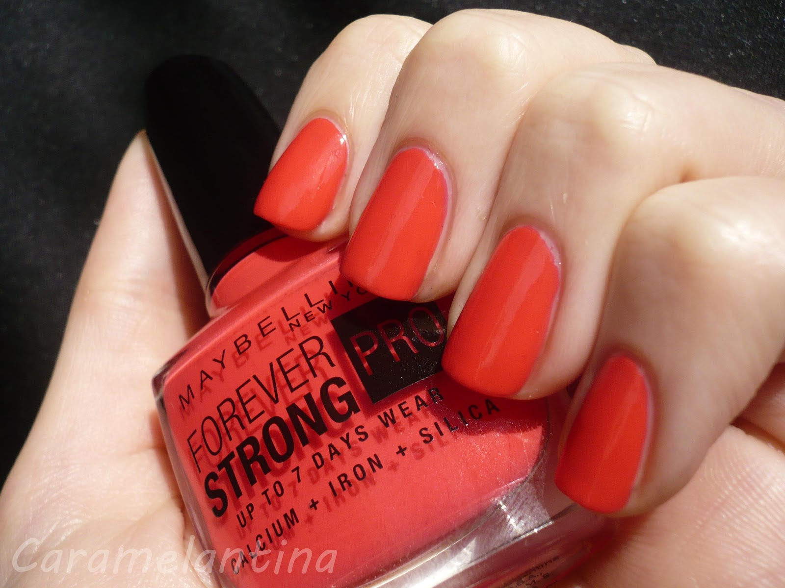 Maybelline Forever Strong PRO Rose Salsa 290 Hot Salsa swatch review