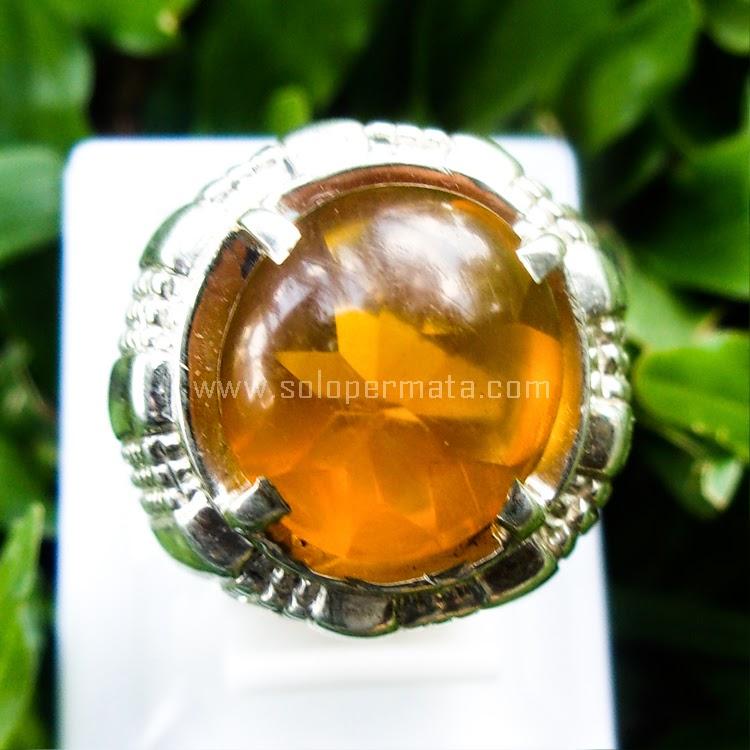 Cincin Batu Permata Fire Opal - SP559