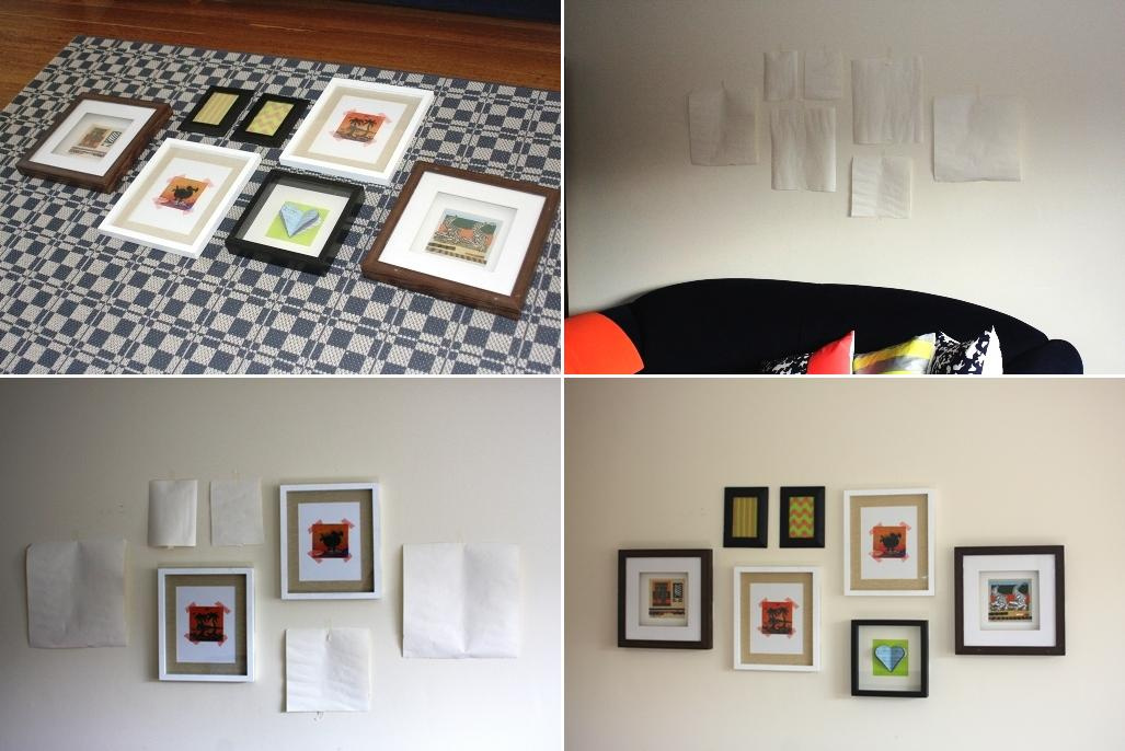 Collage Hanging Picture Frames