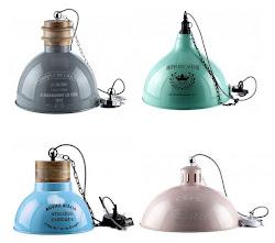 Lampy emaliowane