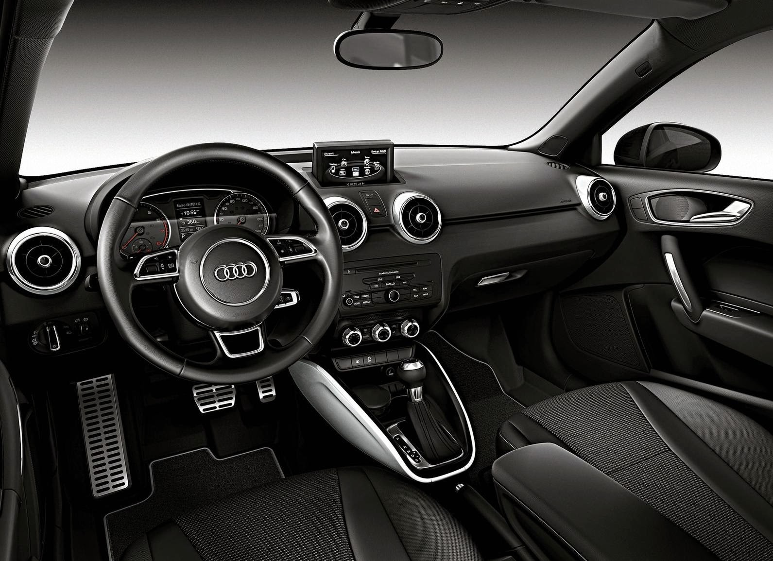 Audi A1 Amplified 2012 Full-screen Desktop Wallpaper