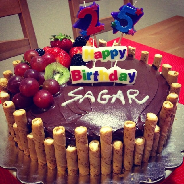 Birthday Cake Images With Name Sagar : Being Dhriti!: Love for baking