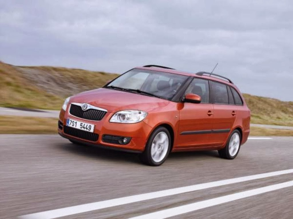 skoda fabia combi wallpaper. Black Bedroom Furniture Sets. Home Design Ideas