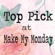 Winner at Make My Monday Challenge