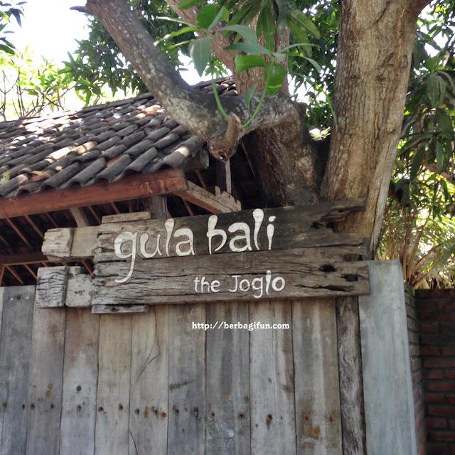gula bali the joglo