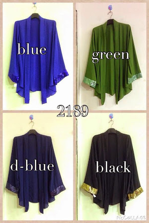 Paling Manis Dan Exclusive Cardigan Sequin Now Ready Stock. Hurry Up Limited Only.